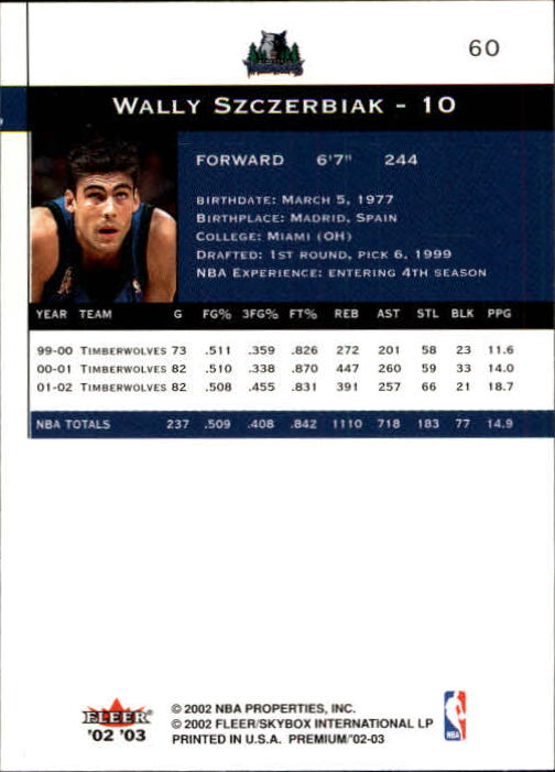 2002-03-Fleer-Premium-Basketball-Cards-Pick-From-List thumbnail 109