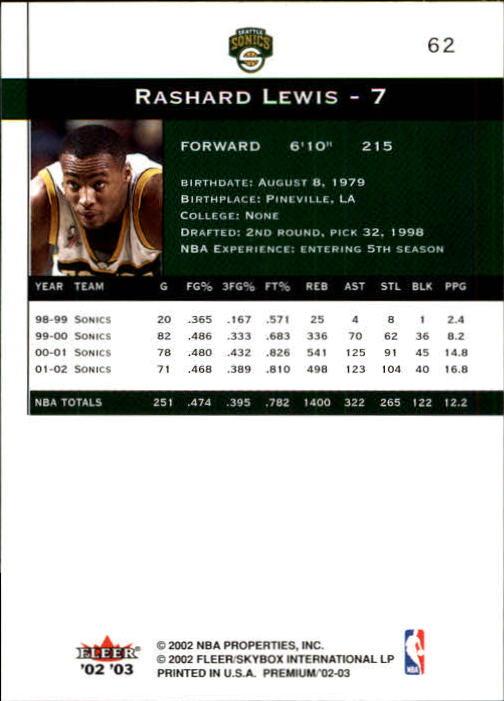 2002-03-Fleer-Premium-Basketball-Cards-Pick-From-List thumbnail 113