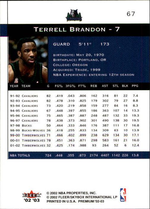 2002-03-Fleer-Premium-Basketball-Cards-Pick-From-List thumbnail 123