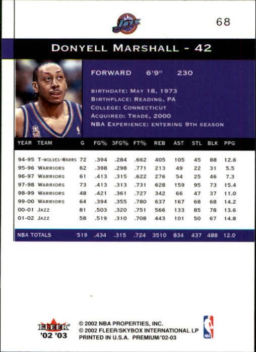 2002-03-Fleer-Premium-Basketball-Cards-Pick-From-List thumbnail 125