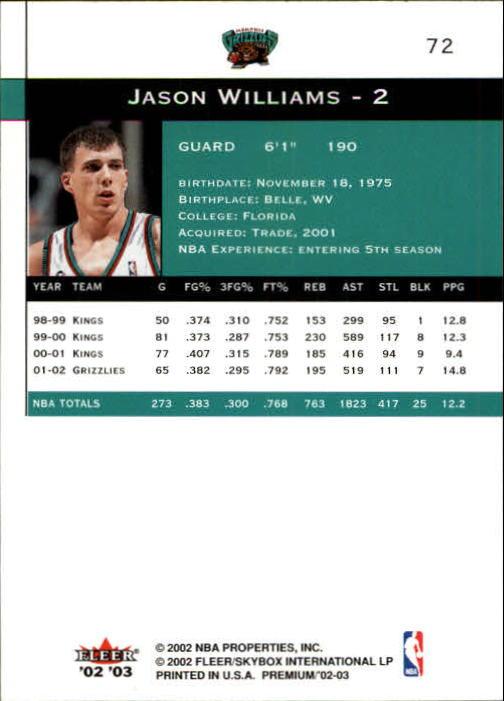 2002-03-Fleer-Premium-Basketball-Cards-Pick-From-List thumbnail 131