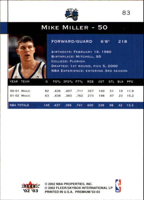 2002-03-Fleer-Premium-Basketball-Cards-Pick-From-List thumbnail 145