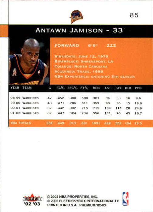 2002-03-Fleer-Premium-Basketball-Cards-Pick-From-List thumbnail 149
