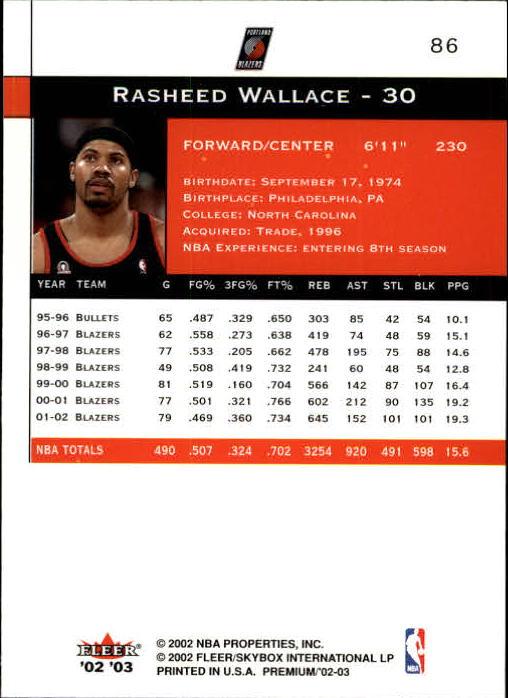 2002-03-Fleer-Premium-Basketball-Cards-Pick-From-List thumbnail 151