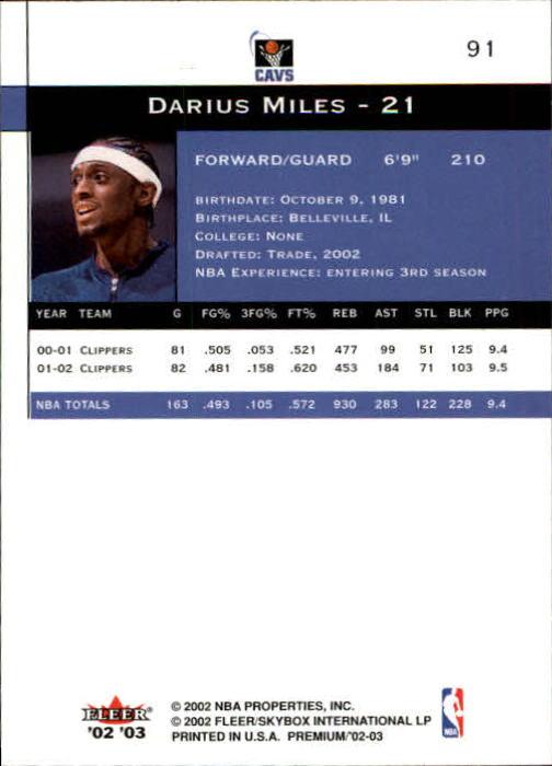2002-03-Fleer-Premium-Basketball-Cards-Pick-From-List thumbnail 161
