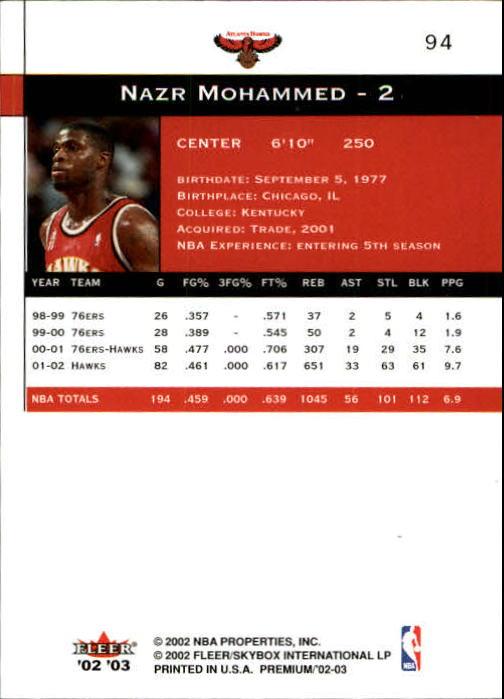 2002-03-Fleer-Premium-Basketball-Cards-Pick-From-List thumbnail 165