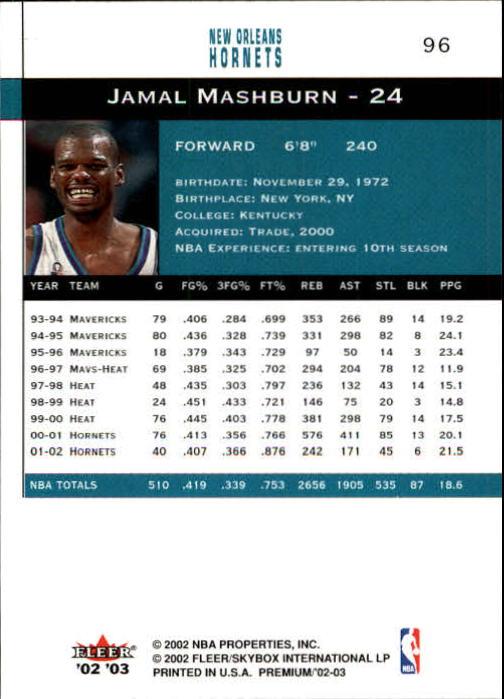 2002-03-Fleer-Premium-Basketball-Cards-Pick-From-List thumbnail 167