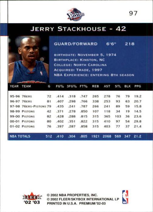 2002-03-Fleer-Premium-Basketball-Cards-Pick-From-List thumbnail 169