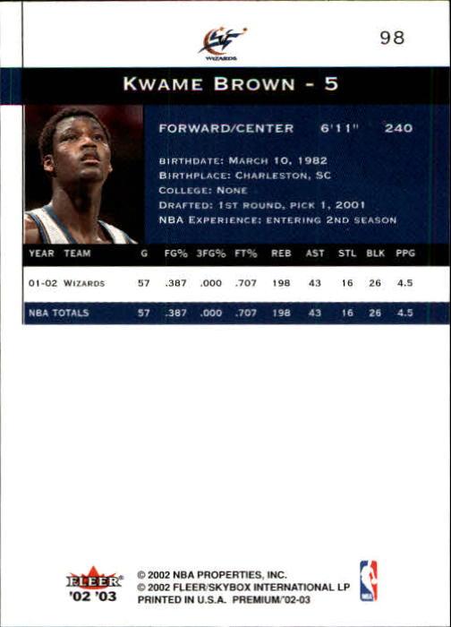2002-03-Fleer-Premium-Basketball-Cards-Pick-From-List thumbnail 171