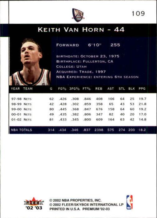 2002-03-Fleer-Premium-Basketball-Cards-Pick-From-List thumbnail 191