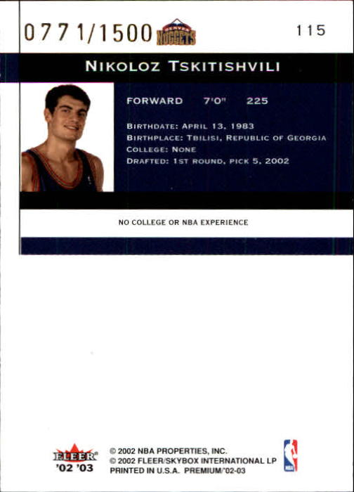 2002-03-Fleer-Premium-Basketball-Cards-Pick-From-List thumbnail 195