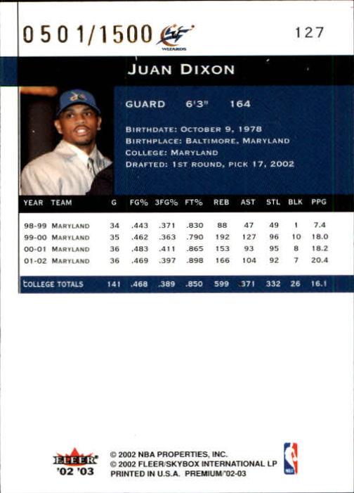 2002-03-Fleer-Premium-Basketball-Cards-Pick-From-List thumbnail 199