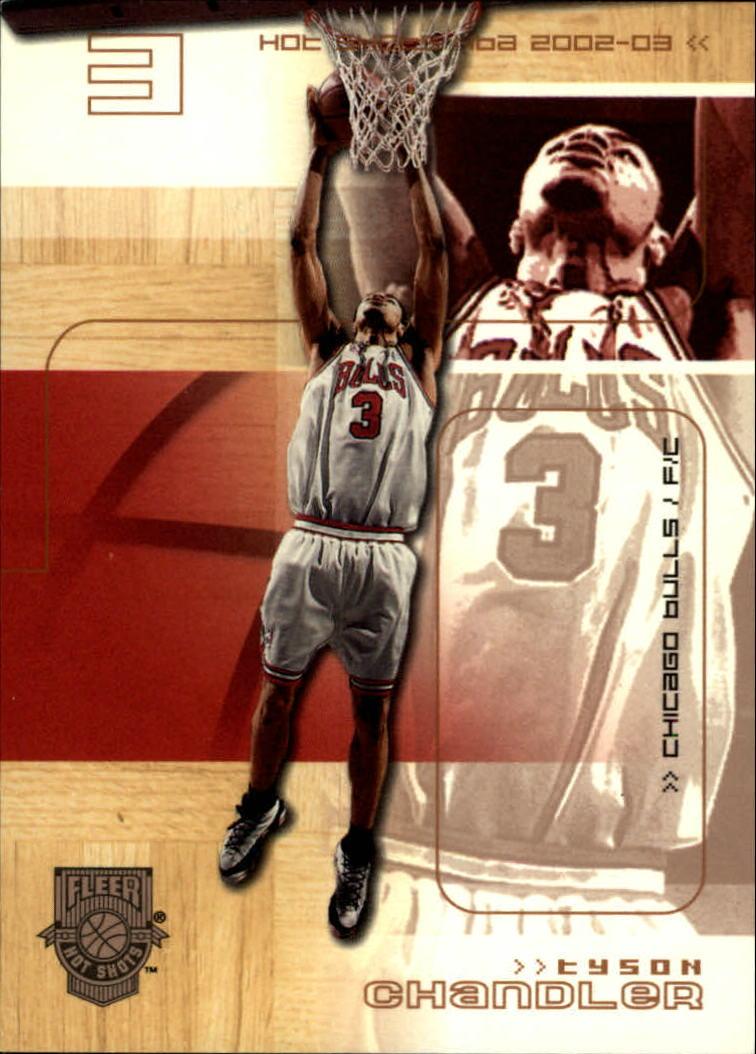 2002-03 Fleer Hot Shots Hot Hands #56 Tyson Chandler