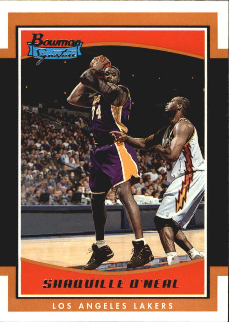 2002-03 Bowman Signature Edition #SESO Shaquille O'Neal