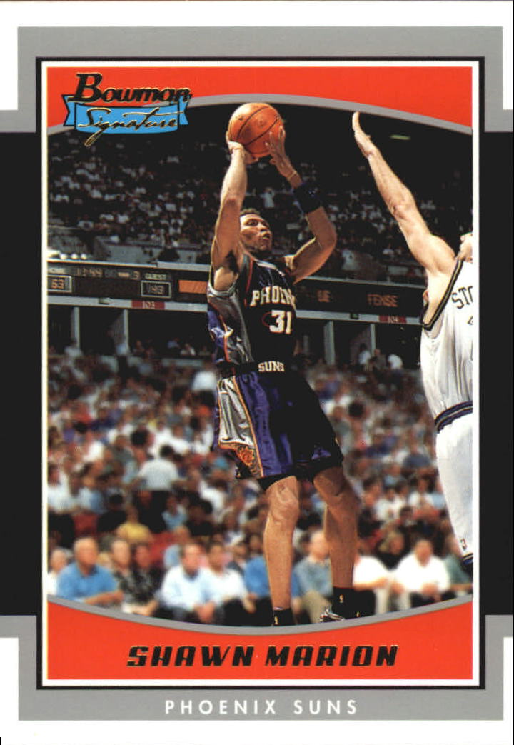 2002-03 Bowman Signature Edition Parallel #SESDM Shawn Marion