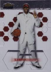 2002-03 Finest Refractors #178 LeBron James