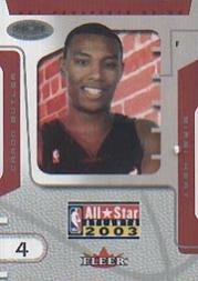 2003 Hoops Hot Prospects All-Star Game #3 Caron Butler