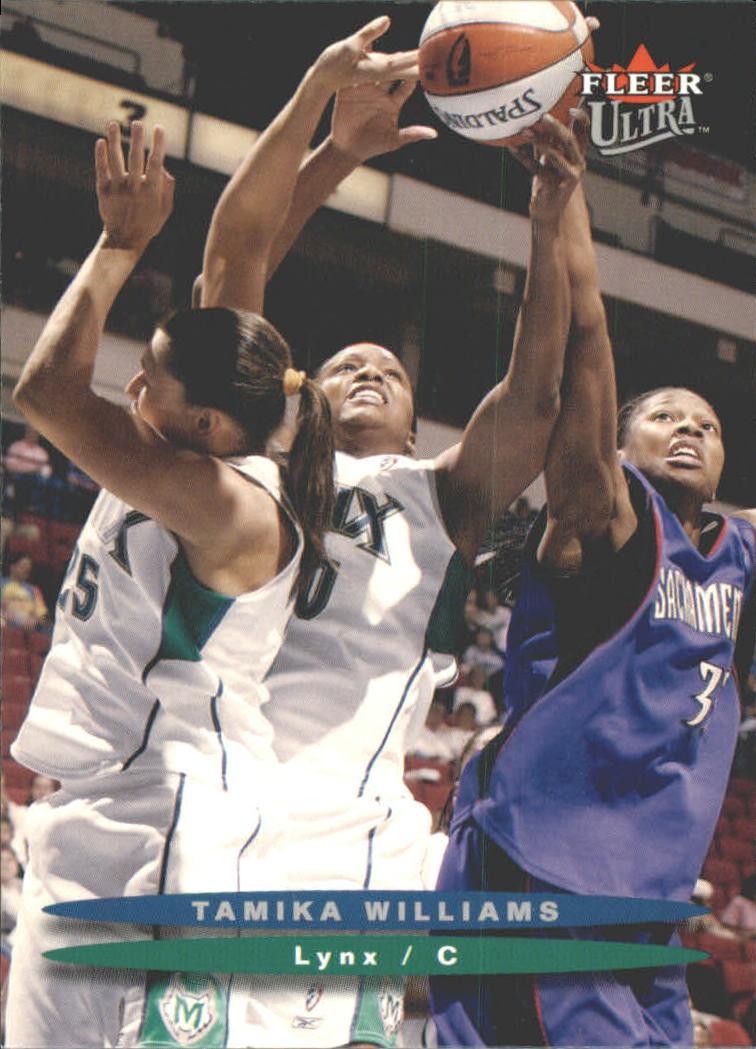 2003 Ultra WNBA #3 Tamika Williams