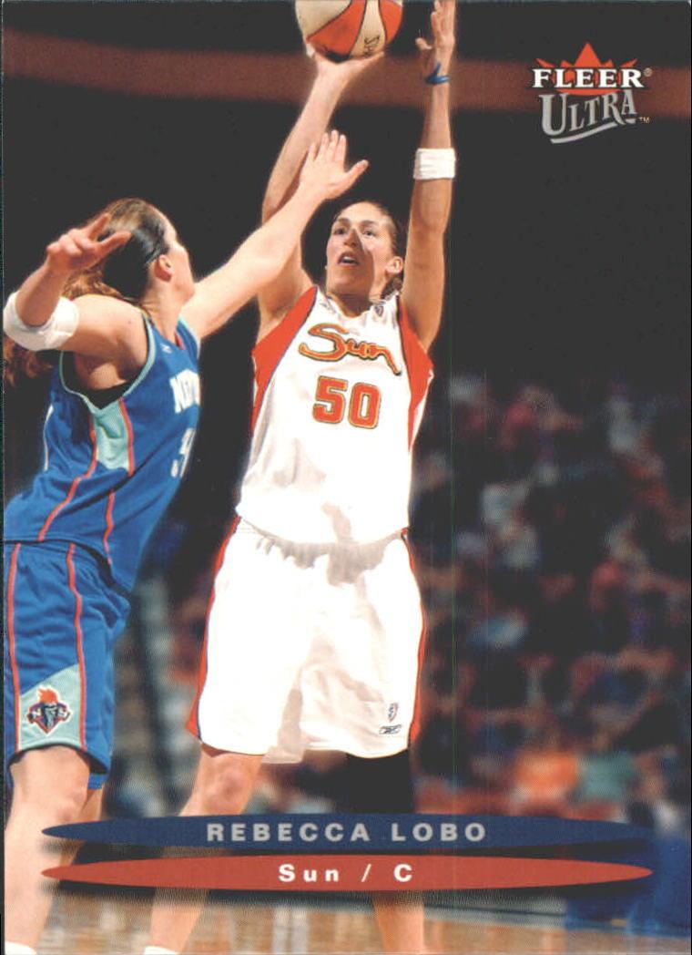 2003 Ultra WNBA #4 Rebecca Lobo