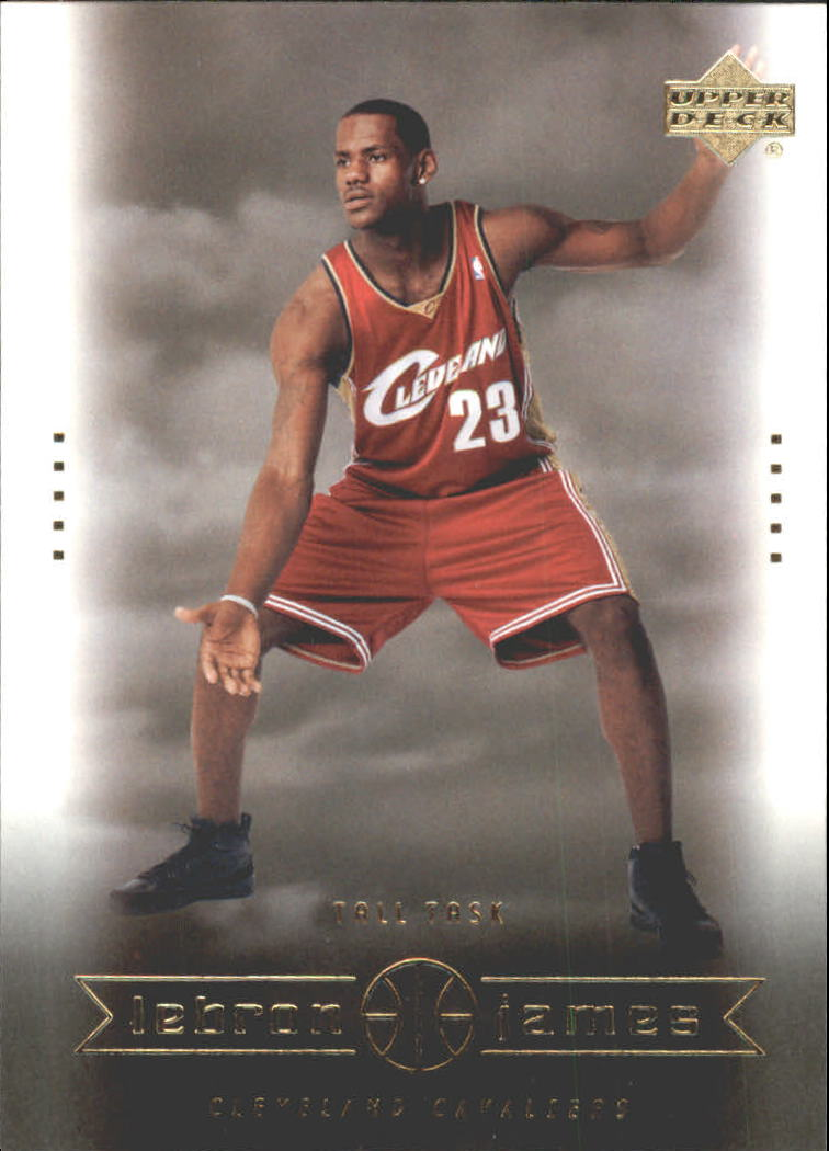 2003 Upper Deck Lebron James Box Set 27 Lebron Jamestall