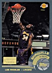 2003 Topps All-Star Game #1 Shaquille O'Neal