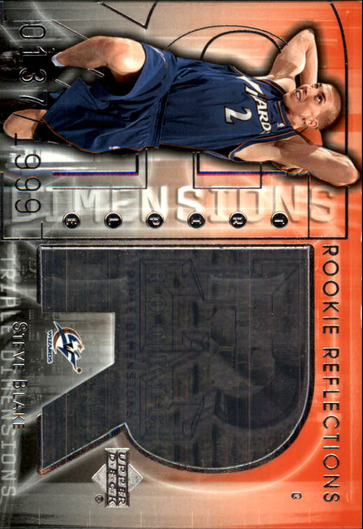 2003-04 Upper Deck Triple Dimensions #99 Steve Blake RC