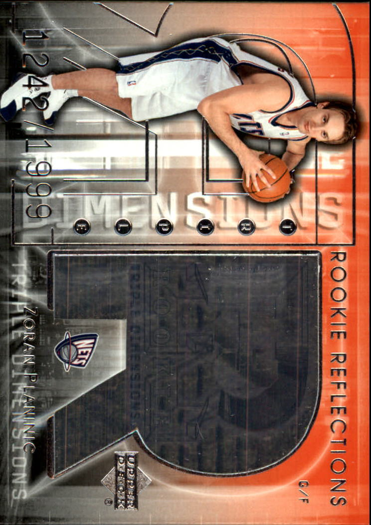 2003-04 Upper Deck Triple Dimensions #111 Zoran Planinic RC