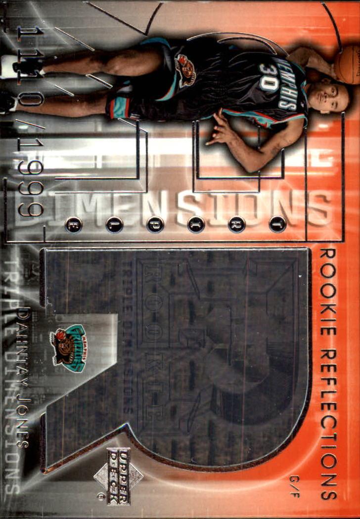 2003-04 Upper Deck Triple Dimensions #113 Dahntay Jones RC