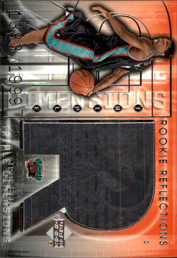 2003-04 Upper Deck Triple Dimensions #117 Troy Bell RC