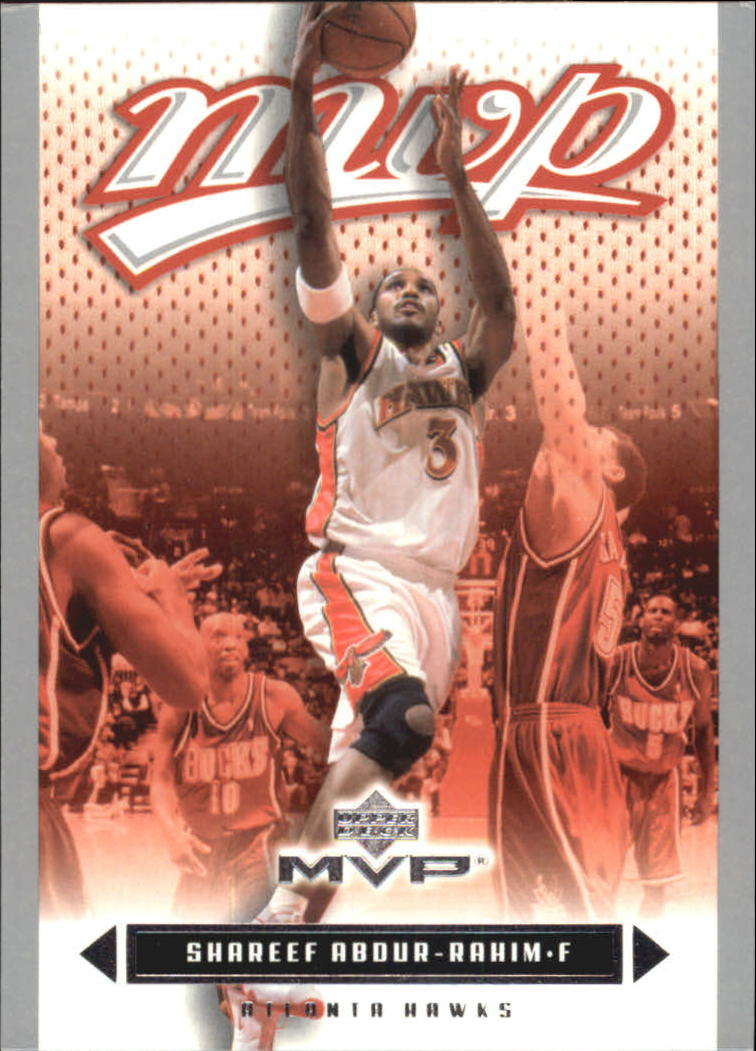 2003-04 Upper Deck MVP Silver #1 Shareef Abdur-Rahim
