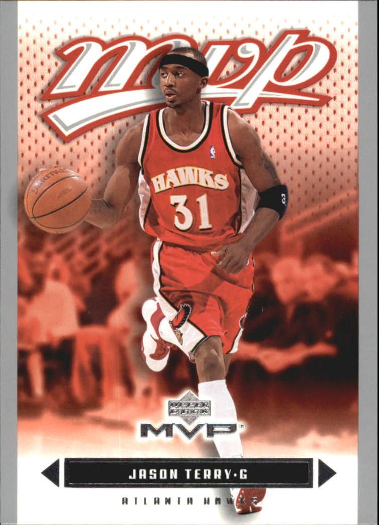 2003-04 Upper Deck MVP Silver #2 Jason Terry