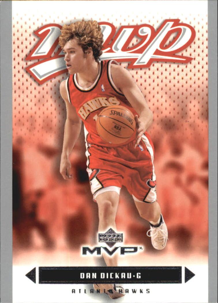 2003-04 Upper Deck MVP Silver #5 Dan Dickau