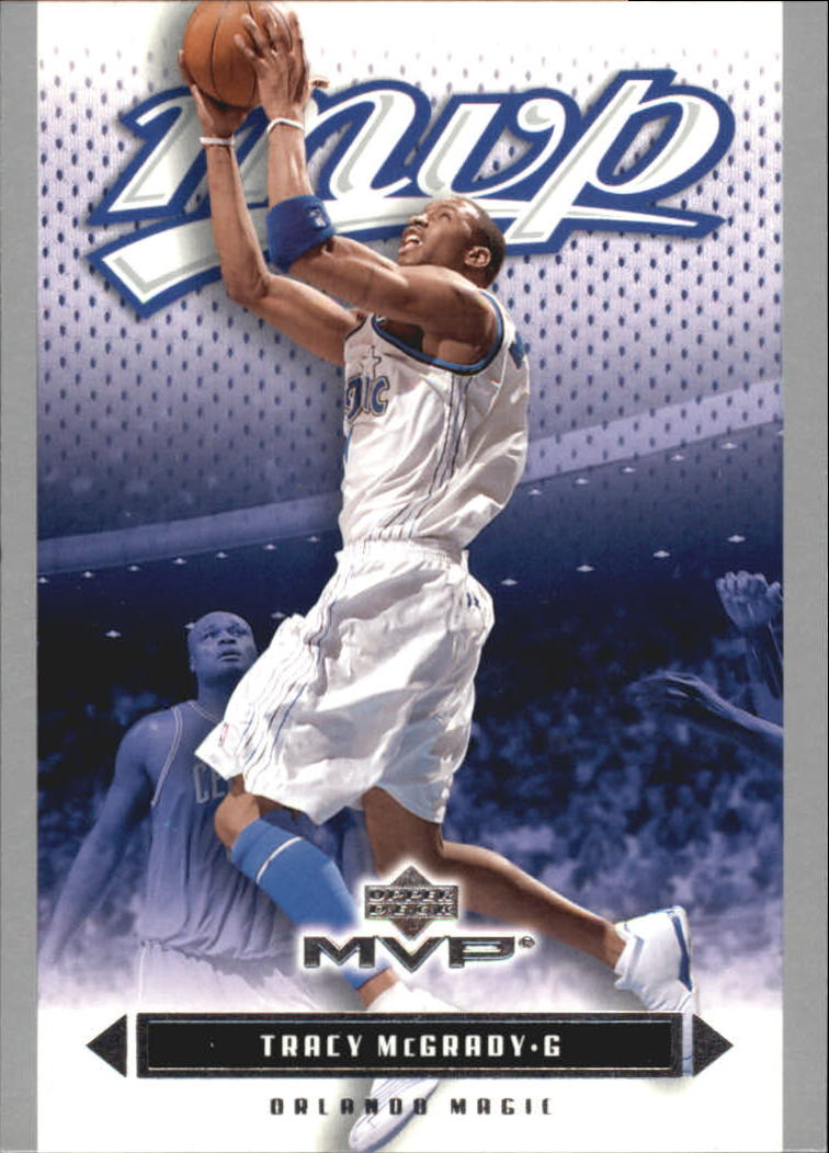 2003-04 Upper Deck MVP Silver #125 Tracy McGrady