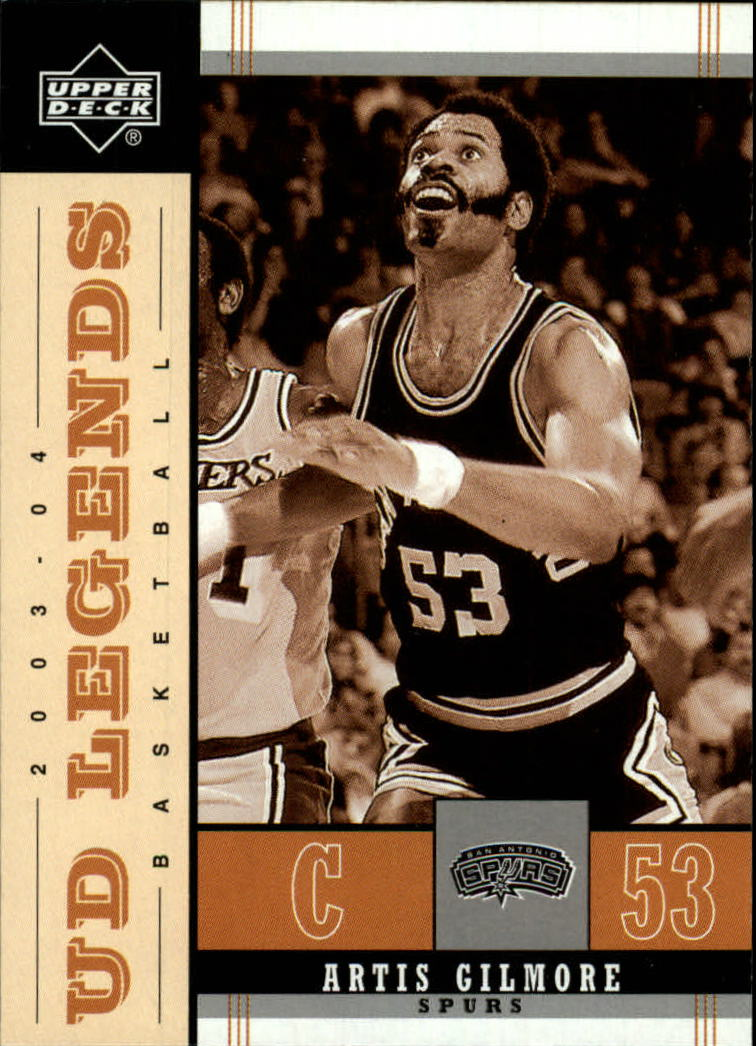 2003-04 Upper Deck Legends Throwback #80 Artis Gilmore