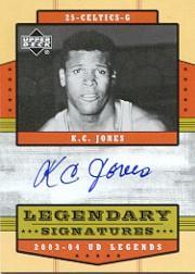 2003-04 Upper Deck Legends Legendary Signatures #KC K.C. Jones