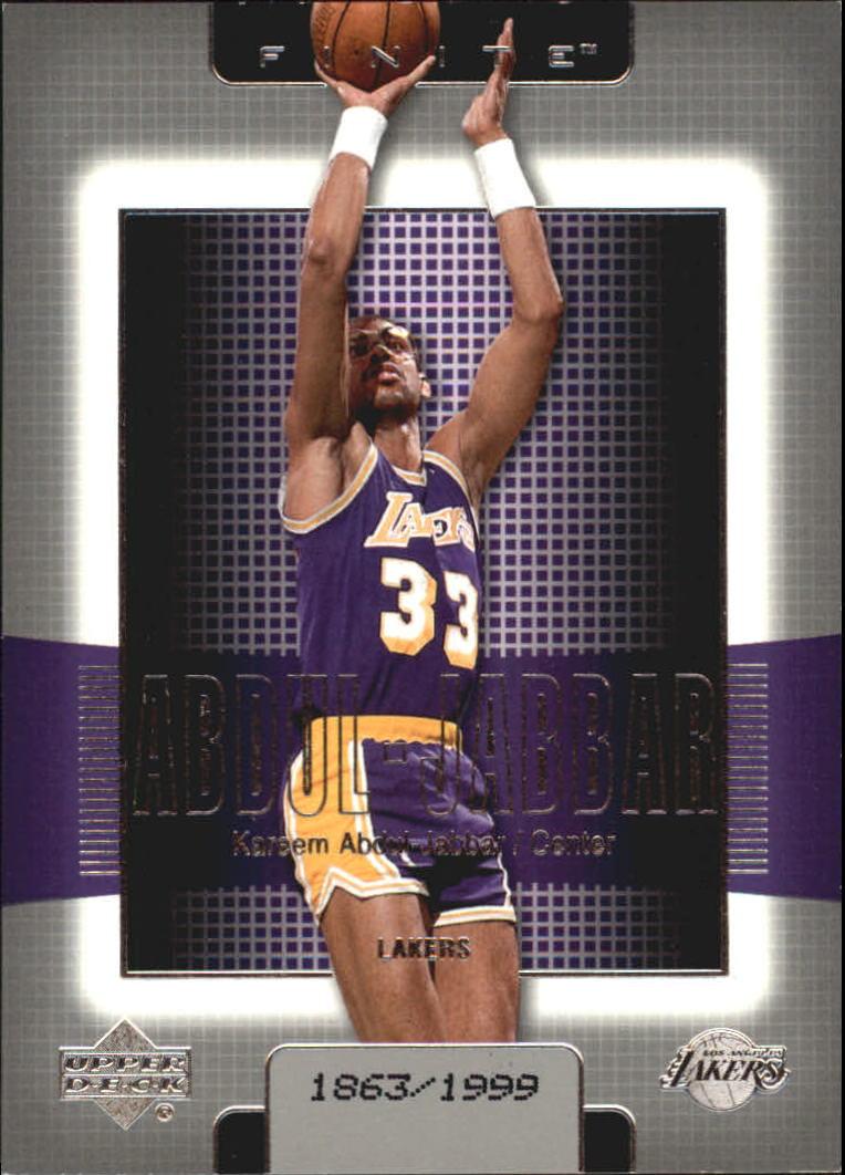 2003-04 Upper Deck Finite #78 Kareem Abdul-Jabbar