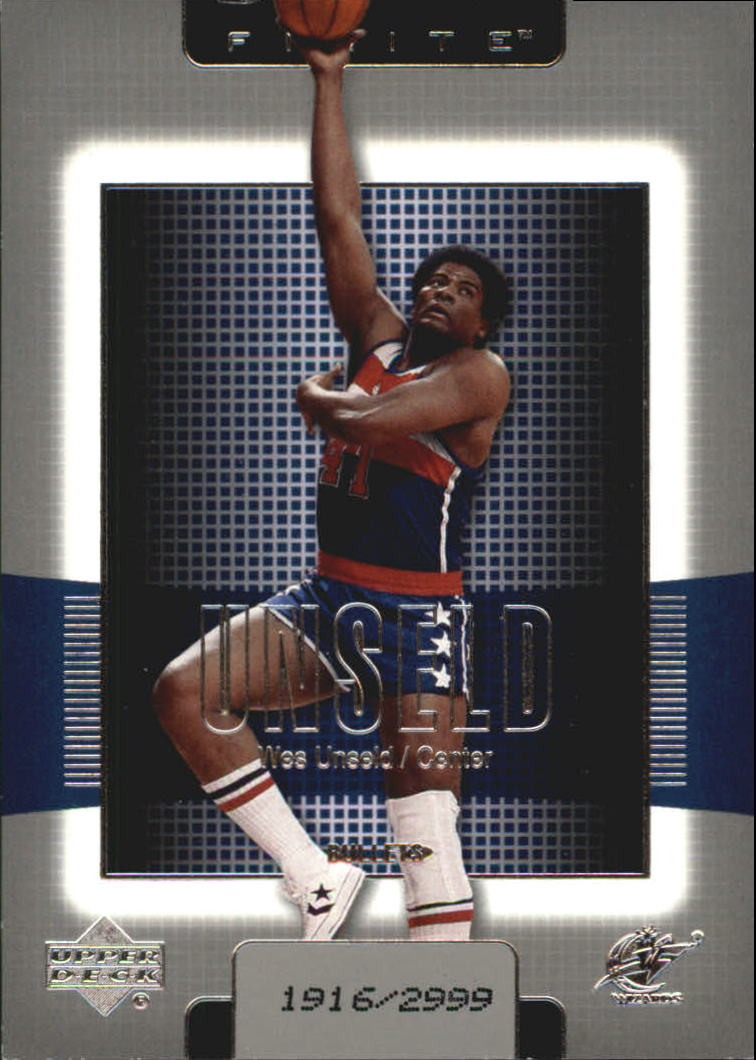 2003-04 Upper Deck Finite #195 Wes Unseld