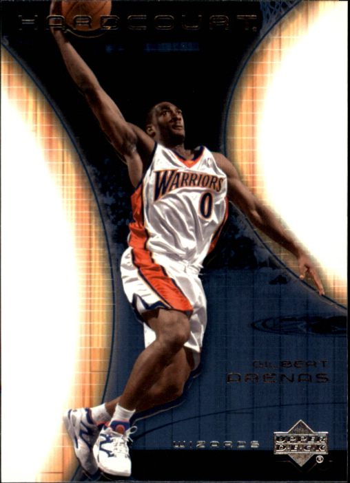 2003-04 Upper Deck Hardcourt #24 Gilbert Arenas