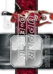 2003-04 Exquisite Collection Patches Quad #LJ LeBron James