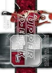 2003-04 Exquisite Collection Patches Triple #LJ1 Lebron James