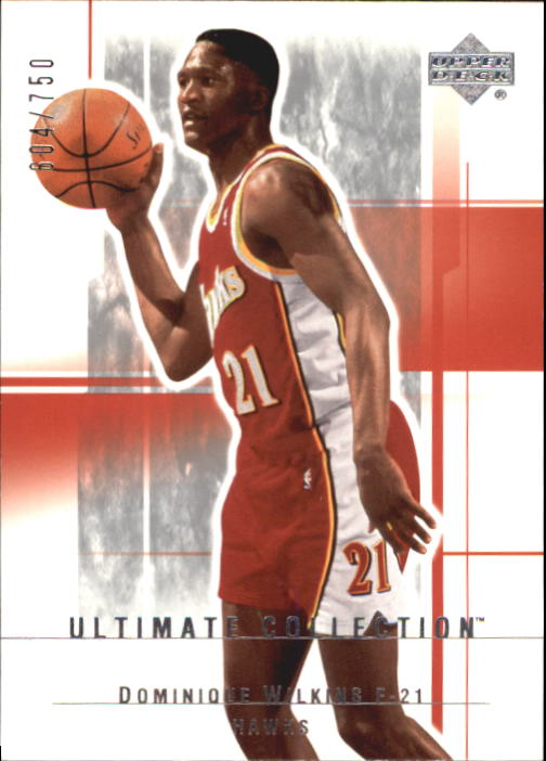 2003-04 Ultimate Collection #1 Dominique Wilkins
