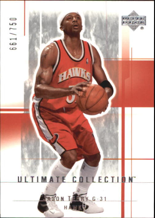 2003-04 Ultimate Collection #2 Jason Terry