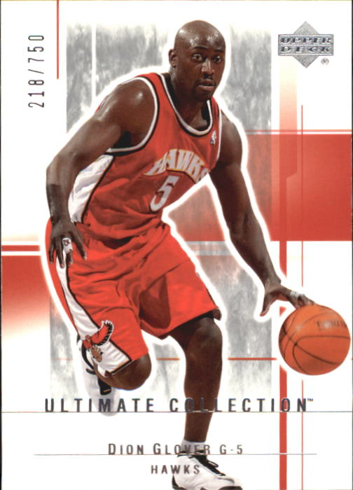 2003-04 Ultimate Collection #3 Dion Glover