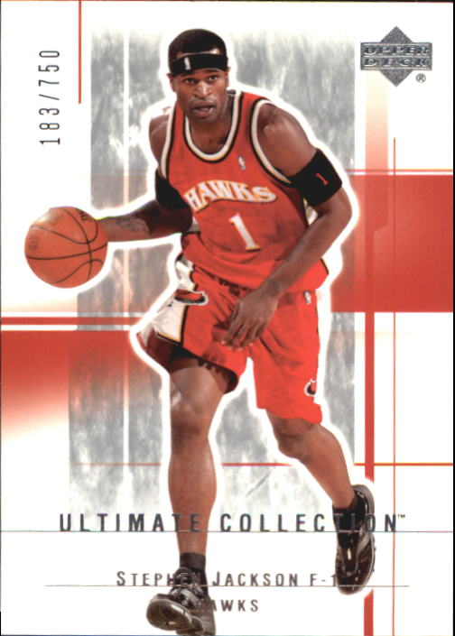 2003-04 Ultimate Collection #4 Stephen Jackson