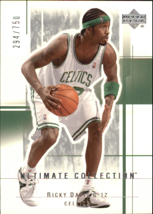 2003-04 Ultimate Collection #8 Ricky Davis