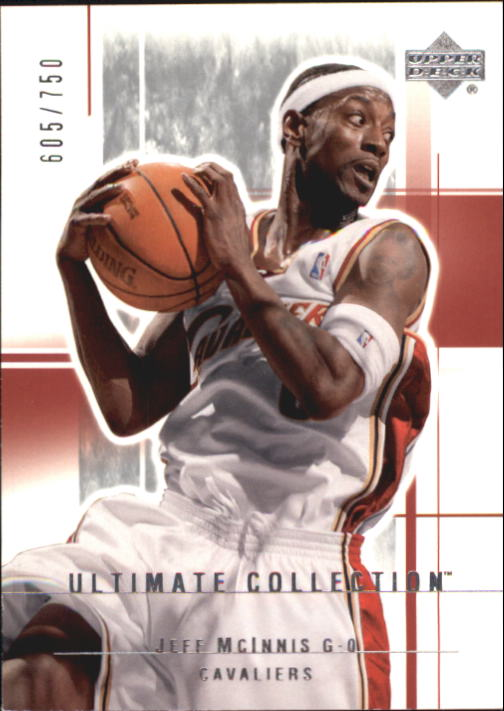 2003-04 Ultimate Collection #13 Jeff McInnis