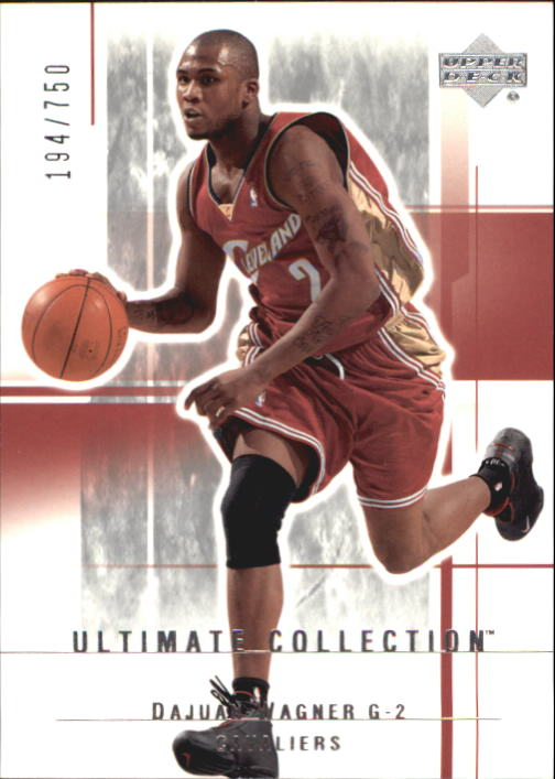 2003-04 Ultimate Collection #14 Dajuan Wagner