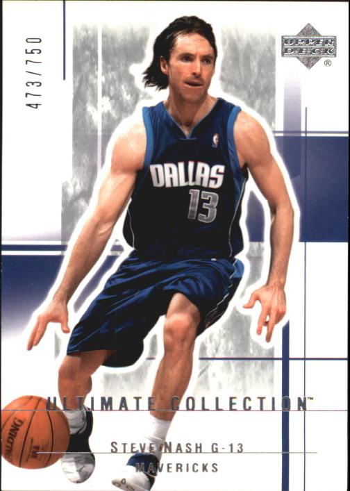 2003-04 Ultimate Collection #18 Steve Nash