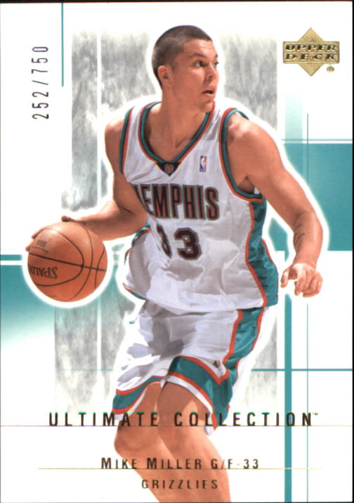 2003-04 Ultimate Collection #51 Mike Miller