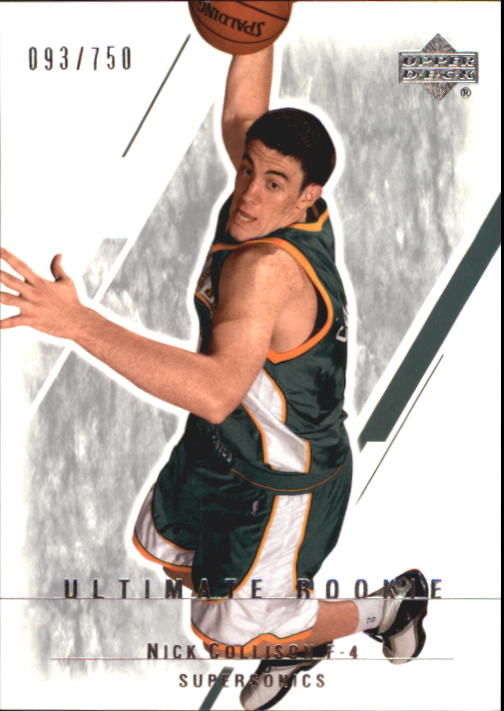 2003-04 Ultimate Collection #119 Nick Collison RC